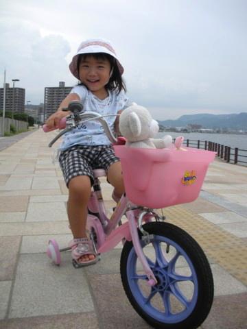 海辺のサイクリング1