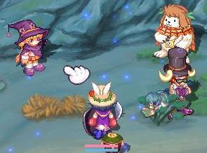 魔女セフィーラと夢遊病ポプリ