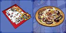 ccと蛸料理