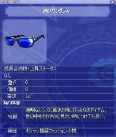 渋いサングラス