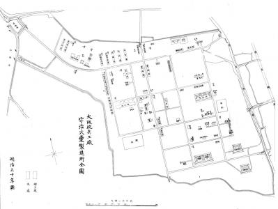 大阪砲兵工廠 宇治火薬製造所(明治30)