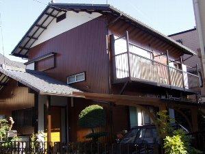 塗装工事 築36年の家