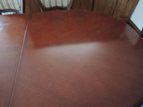 4月5日 テーブル