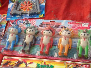 ちょっとセクシーなオリンピック人形