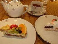 アフタヌーンティ ケーキ