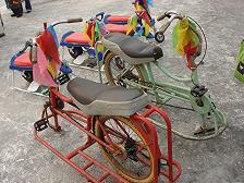 氷車 自転車
