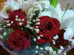お誕生日のお花09
