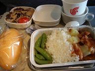 回家機内食1