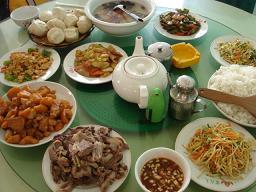 モンゴル昼食