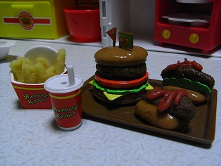3号☆作ハンバーガー