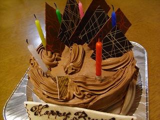 10月25日 ケーキ