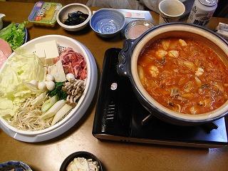 10月29日 キムチ鍋
