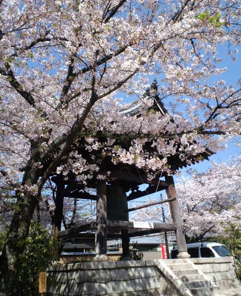 妙顕寺の鐘楼