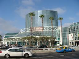 学会旅行 SIGGRAPH2008 アメリカ ロスアンゼルス コンベンションセンター 外観
