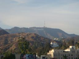 学会旅行 SIGGRAPH2008 アメリカ ロスアンゼルス ハリウッド 文字