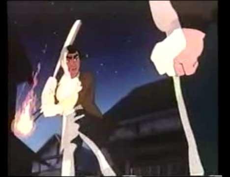 巨人の星 第四話 死のノックアウト打法 火の球