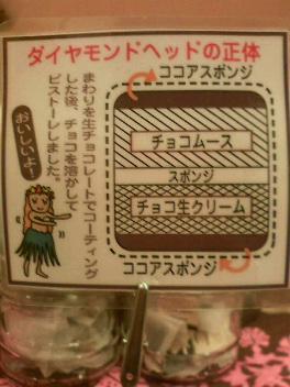 ダイヤモンドチョコレートケーキの正体