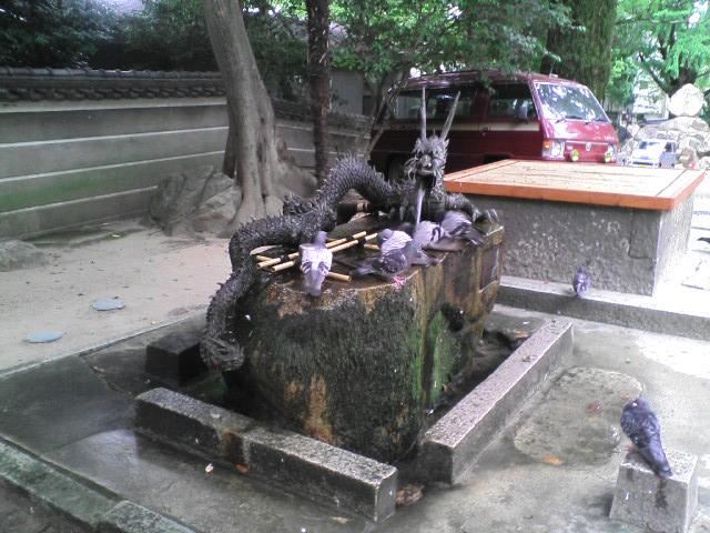 六甲神社 手水舎