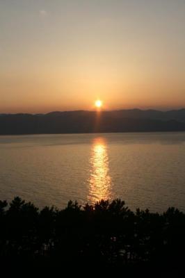 綺麗( ´Д`)=3 初島の景色