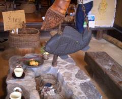 囲炉裏の家