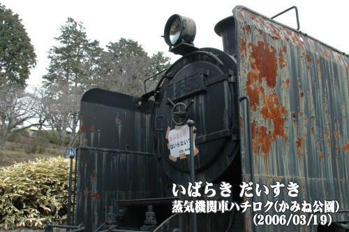 蒸気機関車ハチロク(78653)_かみね公園(茨城県日立市)
