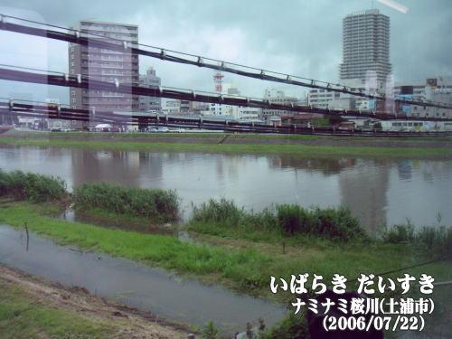 なみなみ桜川(土浦市)