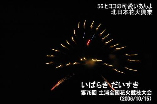 56.ヒヨコの可愛いあんよ(北日本花火興業)