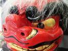 石岡のお祭り 獅子の模型