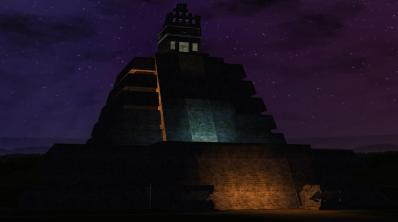 RCT3 Temple of the Crystalskull Night