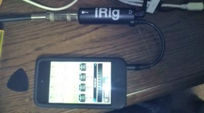 iRig for iPhone, iPod Touch, and iPad