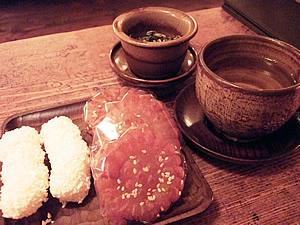 仁寺洞のハス茶