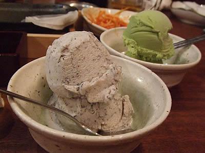 ゴマアイス