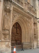 Bath Abbey入り口
