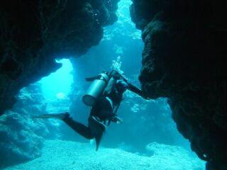 20110923ガオー洞窟出口
