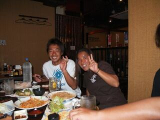 20110925クミさん&カンチさん
