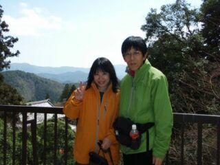 2010直美・鞍馬寺で今年の3月