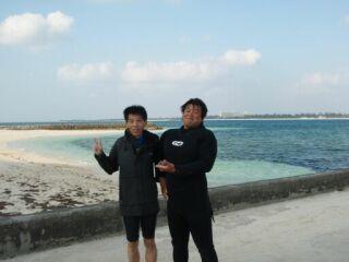 20111019酒井コーチと記念写真