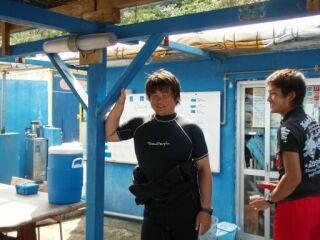 20111021酒井さんと成田君