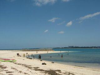 20111024クリマビーチ講習中