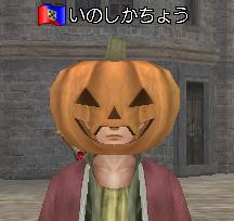 いのしか・かぼちゃ装備
