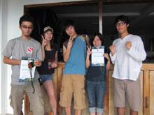 あい、記念写真!日本人ばかりなのは久々!!