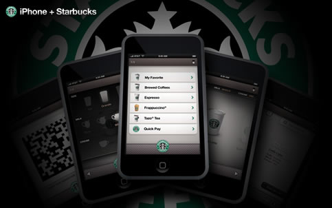 iPhone + Starbucks