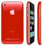 赤いiPhone 3G