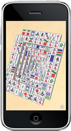 iPhone 3G版ゲーム上海「Moonlight Mahjong Lite」