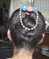 浴衣用髪飾り A1