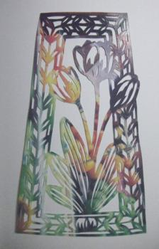 2009 チューリップの切り絵A