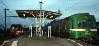 実際の岳南鉄道の駅