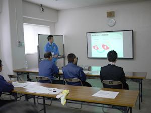 エコドライブ教習in石川酒造場