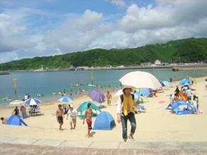 盆の浜辺1