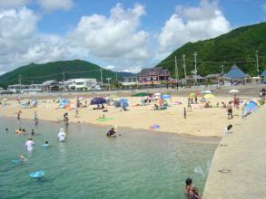 盆の浜辺2